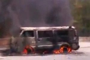 В пригороде Дамаска взорвался заминированный автомобиль