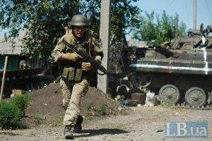 Боевики продолжают обстреливать позиции сил АТО