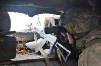 Бойовики двічі відкривали вогонь по позиціях ЗСУ на Донбасі