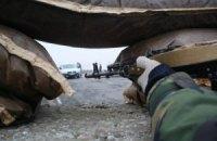 Террористы возобновили обстрел погранотряда в Луганске