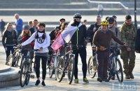КМДА продовжила пілотний проект прокату велосипедів