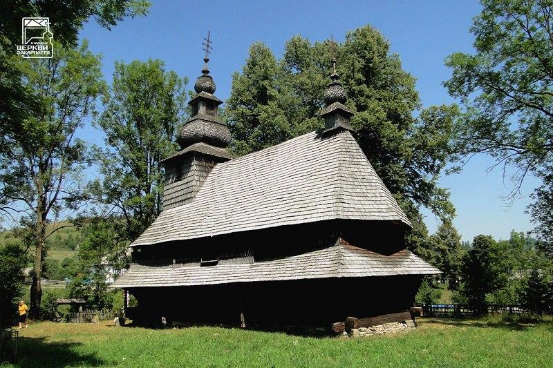 Церква XVIII ст. в Гукливому, з якої почалися громадські акції порятунку закарпатських дерев'яних храмів