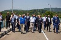 Зеленський під час візиту в Грузію побував на лінії розмежування з Абхазією