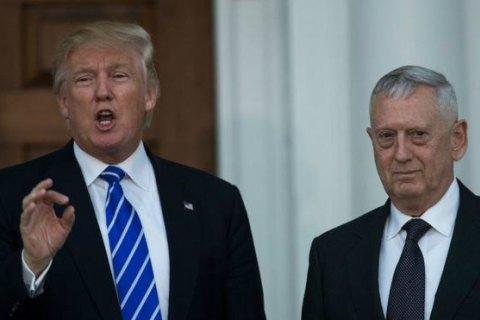 Сенат США прийняв поправку під призначення Меттіса міністром оборони