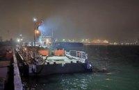 На Херсонщині збудували плавучий причал для ВМС