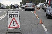 Под Харьковом перевернулся микроавтобус: 8 человек травмированы