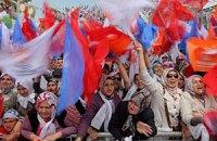 Турецька поліція розігнала антивоєнну демонстрацію сльозогінним газом