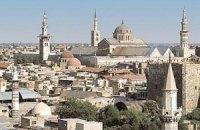 Сирийские войска обстреляли Дамаск