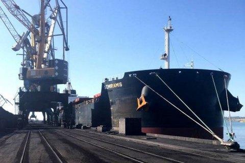 В Україну прибула четверта партія вугілля з ПАР