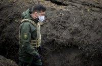 Зеленский побывал на участке разведения возле Петровского