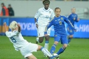 Женская сборная по футболу едва не пробилась на ЧМ-2015