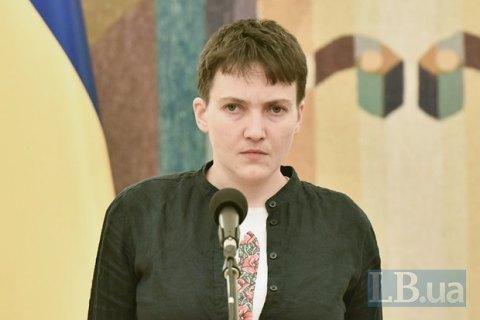 Савченко вважає добрим закон про день у в'язниці за два дні в СІЗО