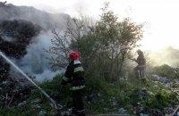 Ровенская свалка горела второй раз за четыре дня