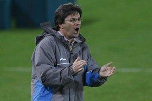 Клуб Бертольо остался без тренера