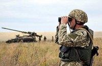 Від початку доби на Донбасі спостерігається тиша