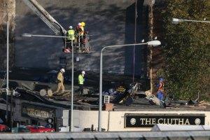 Девять человек погибли при крушении вертолета в Шотландии