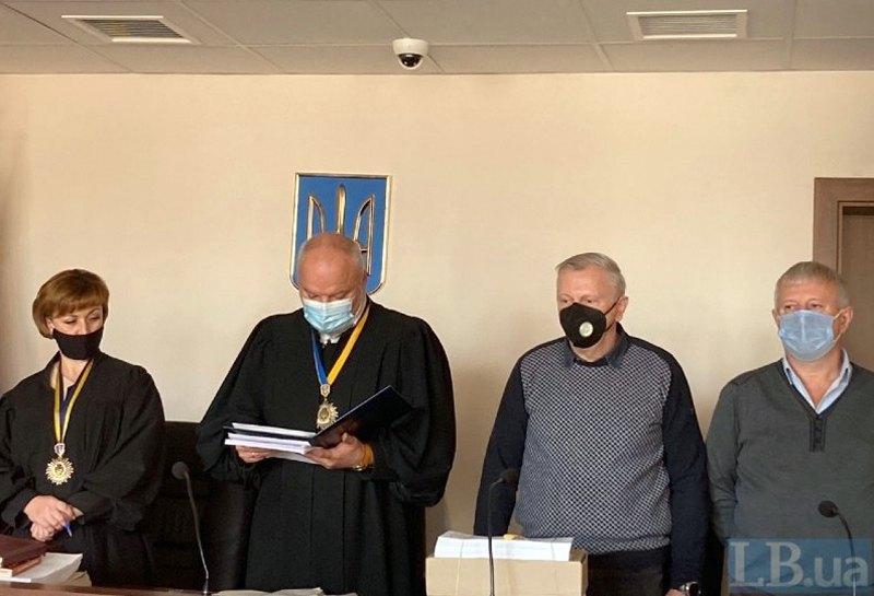 Присяжні та головуючий суддя Сергій Дячук