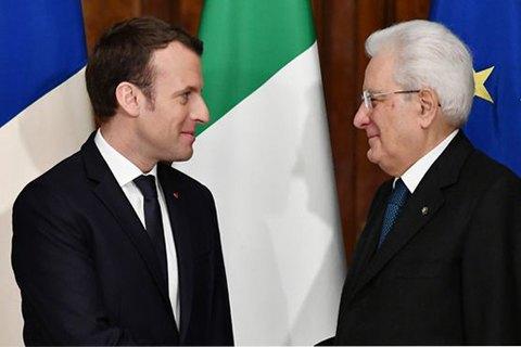 Италия и Франция ссорятся из-за евровыборов и... Кремля?