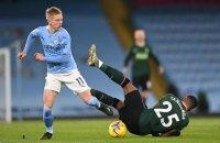 Зінченко потрапив до символічної збірної 24-го туру Англійської Прем'єр-ліги