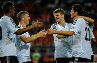 Германия уверенно справилась с Нидерландами