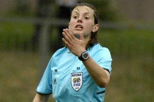 Арбітром матчу української Прем'єр-ліги вперше призначено жінку