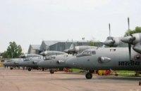 Індія спростувала зникнення п'яти своїх літаків в Україні