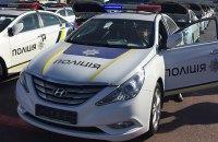 В Киеве нарушивший правила парковки водитель наехал патрульному на ногу
