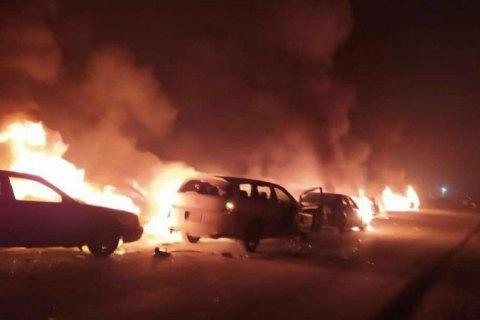 Режим ЧС введен в Кордайском районе Казахстана после беспорядков