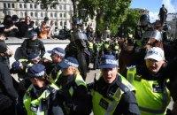 """У Лондоні заарештували понад 100 учасників акції """"на захист пам'ятників"""""""