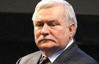 Валенса возложил ответственность за кризис в Украине на Евросоюз