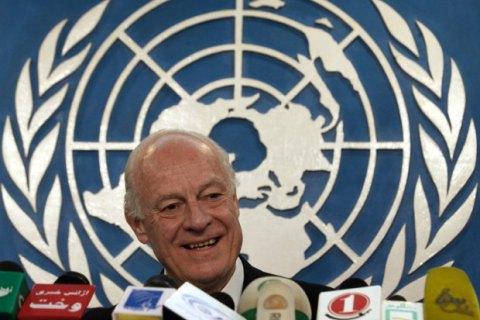 В ООН запропонували відновити мирні переговори щодо Сирії