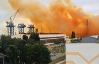 """В Укргідрометцентрі попередили про ймовірні кислотні дощі після аварії на """"Рівнеазоті"""""""