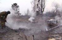 Площа лісових пожеж у Бурятії зросла в 11 разів