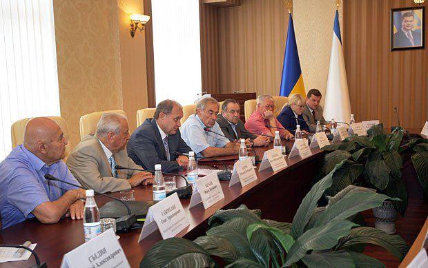 Круглый стол «Конституционно-правовой статус Автономной Республики Крым»