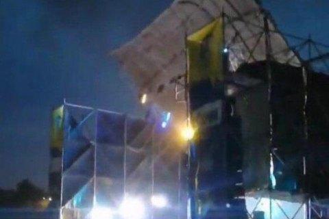 Из-за урагана на рок-фестивале в Днепропетровской области погиб человек (обновлено)