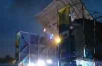 Через ураган на рок-фестивалі в Дніпропетровській області загинула людина (оновлено)