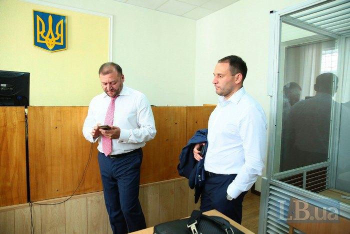 Михаил Добкин с братом Дмитрием