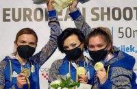 """Українки """"перестріляли"""" росіянок і стали чемпіонками Європи"""