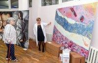 В Інституті кардіології відкрилася виставка сучасного мистецтва