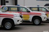 200 скорых для Украины: Фонд Рината Ахметова передал медикам скорые-внедорожники