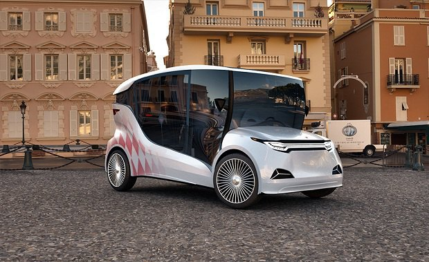 Прототип первого украинского электромобиля Synchronous. Фото взято с Ecotechnica.com.ua