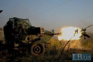 Українські військові незважаючи на атаку бойовиків встановили блокпост у Горлівці