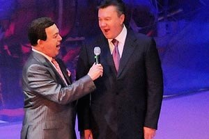 Янукович ценит неувядающий талант Кобзона