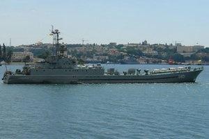 Українські кораблі, які базувалися на Донузлаві, попрямували до Одеси