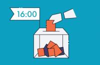 Явка избирателей в Черновцах по состоянию на 16:00 составила 17,54%