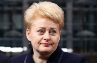 Президент Литви Грібаускайте відвідає Україну в грудні