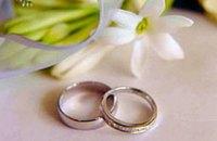 В День влюбленных в Украине планируют пожениться более 1,4 тысячи пар