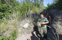 Зеленський прибув у зону ООС і привітав військових з Днем захисників України