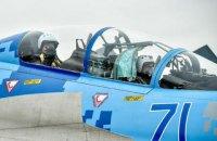 Порошенко полетал на Су-27
