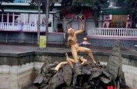 В Алуште разбили знаменитый фонтан